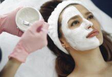 peeling w salonie kosmetycznym